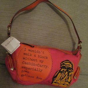 COACH Bonnie Cashin Madison Coach Handbag